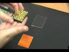Layering Thin Dichroic Glass
