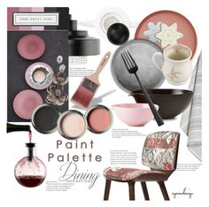 """""""Paint Palette Inspiration!"""" by eyesondesign ❤ liked on Polyvore featuring interior, interiors, interior design, home, home decor, interior decorating, House Doctor, Dot & Bo, Eva Solo and Normann Copenhagen"""
