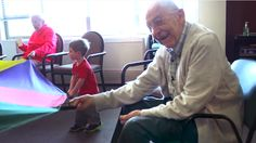 They put a preschool in a nursing home and it changed everyone's life. Pretty cool.