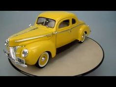 FORD DELUXE 1940 Motor Max 1/18 Display Cabinets, Diecast Models, Scale Models, Ford, Youtube, Toys, Cabinets, Window Displays, Scale Model
