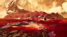 """Far Cry 4: """"Shangri-La é um dos mitos fundadores de Kyrat"""", explica Hutchinson. """"Enquanto estávamos desenvolvendo o jogo, pensamos: Nós vamos inventar este país. Um país não é apenas a terra. É também a história do lugar eo que seus habitantes acreditam. """""""