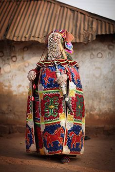 Benin's Mysterious Voodoo Religion Is Celebrated In Its Annual Festival.