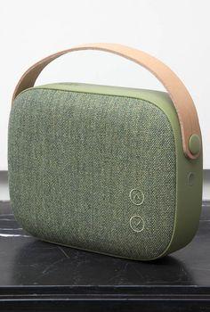 VIFA | HELSINKI WIRELESS BLUETOOTH SPEAKER. Portable bluetooth speaker in Willow Green
