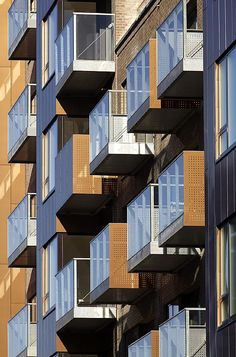 Karre 1 Housing in Odense by C.F. Møller Architects