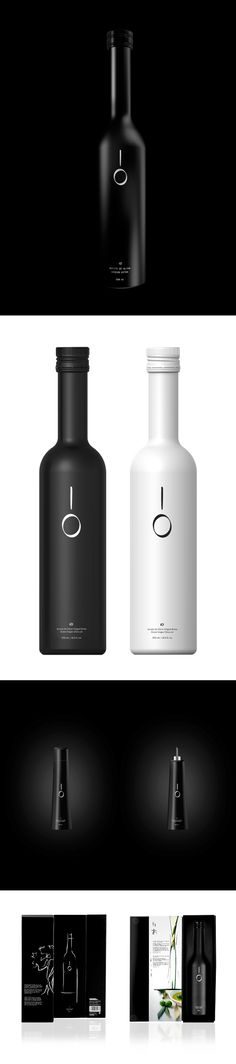 IO Olive oil packaging by The Strategic Concept & Design Brand Studio  http://sbbs.prosite.com/47391/225297/portfolio/io-olive-oil-packaging (Bottle Design Packaging)