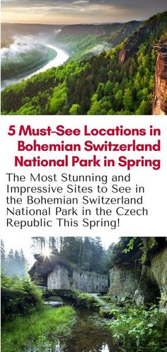 Day Trips From Prague - The best sites to see in the Bohemian Switzerland National Park on a day trip from Prague Czech Republic! #hiking #prague #czechrepublic #europe #travel #bohemianswitzerland