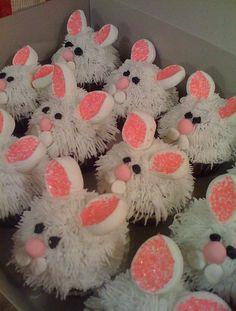 bunny cupcakes - bjl