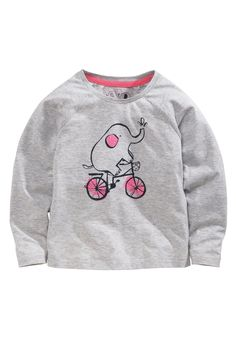 Buy Grey Elephant T-Shirt And Printed Skirt Set (3mths-6yrs) from the Next UK online shop