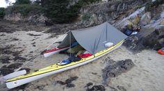 Bivouac dans le Golfe du Morbihan Camping En Kayak, Canoe And Kayak, Sea Kayak, Fishing 101, Fly Fishing, Kayaks, Hobie Adventure Island, Kayaking Gear, Canoeing