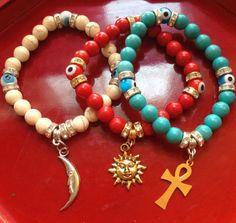 Hey, I found this really awesome Etsy listing at https://www.etsy.com/listing/186009897/yoga-meditation-bracelets-set-of-three