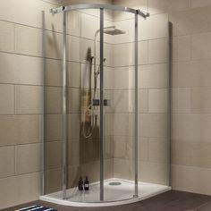Cooke & Lewis Luxuriant Offset Quadrant RH Shower Enclosure, Tray &…