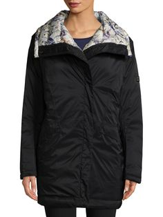 Helly Hansen Embla Winter Wrap Coat In Dark Blue/navy Wrap Coat, Helly Hansen, Boutique, Womens Fashion For Work, Dark Blue, Bomber Jacket, Navy, My Style, Winter
