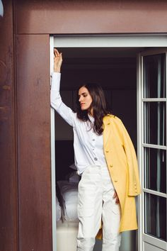 Summer Edit - Stadtferien - Maison Gassmann Ermanno Scervino, Fitness, Duster Coat, Spring Summer, Photoshoot, Fancy, Pullover, Blazer, Jackets