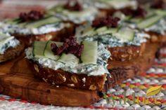 Tzatziki Toasts - Wildtree Recipes