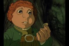 Bilbo picks up a ring