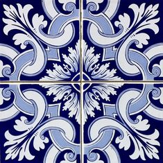 Azulejo Adesivo : AZ096   Arabesco Design   Elo7