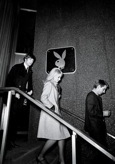 John and Cynthia Lennon at the New York club during the Beatles' first visit to the US, 1964. Photo by Michael Ochs.