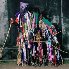 Reflecting the ritual adornment and spirituality of masquerades in Nigeria, Benin and Burkina Faso in West Africa, these portraits build on Galembo's work