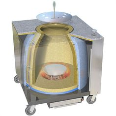 Tandoor oven: you can buy an electric one from £500+, or make one for less than £50? My mate Bob's DIY one does great meat, fish and banana's!