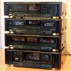 Fisher Z1, vntage audio system
