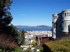 San Francisco, Lyon Steps in the Pacific Heights::::::::::::: My favorite place for a workout + stunning view
