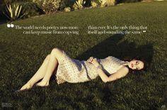 Lana Del Rey by Mark Williams & Sara Hirakawa for Fashion Magazine, 2013.