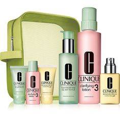Clinique Great Skin Home & Away Set For Oilier Skin (Type III/IV) $32.50