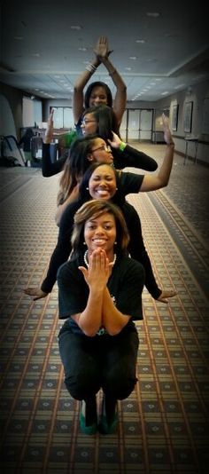 This would be cute in a step show.... Midwestern Region Sorors of Alpha Kappa Alpha Sorority, Inc.