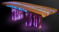 Home - Epos Furniture Club Furniture, Resin Furniture, Unique Furniture, Resin Crafts, Resin Art, Wood Crafts, Diy Resin Table, Crate Table, Wood Table