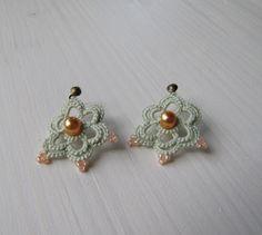 Mysterious Pastels mini w GoldFingers na DaWanda.com Mysterious, Pastels, Crochet Earrings, Mystery, Mini, Etsy, Jewelry, Jewellery Making, Jewerly