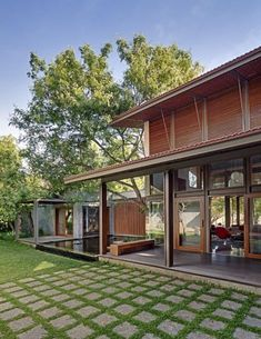 70 Super Ideas House Design Facade Dream Homes Modern Patio, Modern Exterior, Garden Modern, Modern Door, Craftsman House Plans, Country House Plans, Facade Design, Patio Design, Tropical Beach Houses