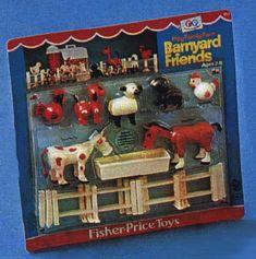 Fisher Price Barnyard friends