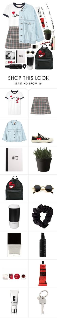 """save me"" by neightasha ❤ liked on Polyvore featuring Tory Burch, Converse, Muuto, Chiara Ferragni, ROOM COPENHAGEN, American Apparel, Butter London, St. Tropez, Korres and Aesop"