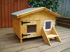 ~~ cattery,cat,house,cat bed,catflap ,cat kennel.# microchip option ~~