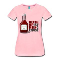 Ketchup ist mein Gemüse (Grillshirt) T-Shirt   Carnivore Connaisseur Grill & Barbecue Shirts