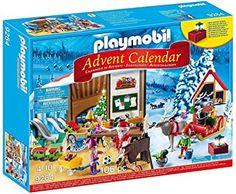 Amazon.com: PLAYMOBIL Advent Calendar - Santa's Workshop: Toys & Games