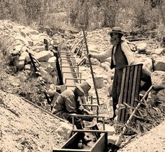 Gold Miners...Part of the history of the wild west