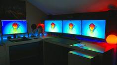 Melhor Gaming Tech Room Setup Tour 2015 (Português 4K)