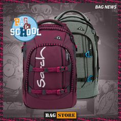 satch pack - der Schulrucksack Klassiker ab der 5. Klasse! 👌🎒 North Face Backpack, Under Armour, The North Face, Backpacks, News, Bag, First Class, School, The Nord Face