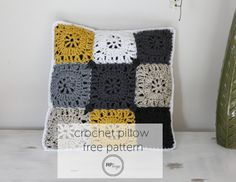 Free Crochet Patterns for Home Decorating Rugs, Pillows and More   AllFreeCrochet.com