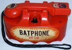 BAT - BLOG : BATMAN TOYS and COLLECTIBLES: VINTAGE BATMAN TOY - The 1966 HOT LINE BATPHONE By MARX