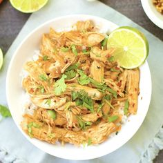Set it and forget it with this super easy lime infused slow cooker teriyaki chicken!! This Paleo and Gluten Free dinner will become a new favorite easy weeknight meal. It's baseball season around here which means the whole family is out of the house from 4:30-7:00 three nights a week. Slow cooker recipes to the...Read More »