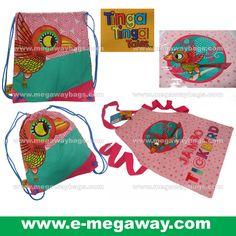 megawaybags#Eco #Eco-Friendly #Cotton #Print #Backpack #BookBag #Drawsting #Kit #Bag #Kids #Children #Girls #Teenager #Drawing #Painting #Writing #Art #Cartoon #Disney #TingaTales #Tinga #Tales #Bird #Kindergarten #SchoolBag #Wax #Waterproof #Megaway #MegawayBags #CC-1301-51642 #CC-1300 #Apron