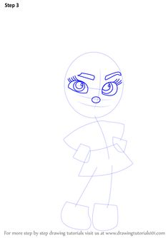 Learn How to Draw Vanellope von Schweetz from Wreck-It Ralph (Wreck-It Ralph) Step by Step : Drawing Tutorials Disney Character Drawings, Disney Drawings, Disney Characters, Disney Drawing Tutorial, Drawing Tutorials, Disney Drawing Challenge, Vanellope Von Schweetz, Wreck It Ralph, Cartoon Movies