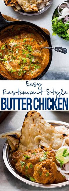 This restaurant style butter chicken masala (murgh makhani) recipe is easy and takes under an hour! It's authentic, no fuss and perfect when you want Indian curry in a hurry.