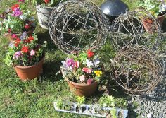 barbed wire balls (maybe make something a little less prickly) - 52 FLEA