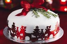 decorated Christmas cakes recipes - Bing Images