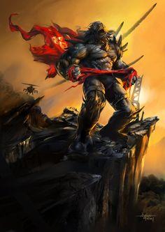 Doomsday vs Darkseid vs Thanos vs Ares vs Wolverine - Battles - Comic Vine