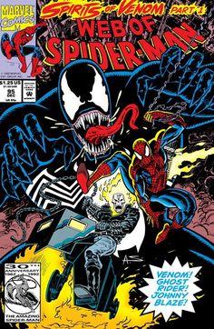 Spirits of Venom n°1 (1992) #venom #spiderman #marvel