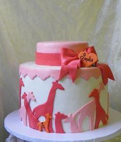 Giraffe cake! So cute...love love love for my girls bday!!!!!